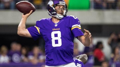 Sam Bradford, 28, Minnesota Vikings