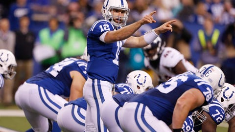 Comeback Player of the Year: Andrew Luck, Colts