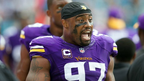 Griffen opts out of Vikings contract with 3 years left
