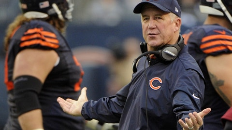 John Fox, Chicago Bears (Last week: 2)