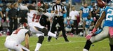 Struggling Bucs rookie Roberto Aguayo hits the winner after missing two kicks