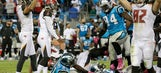 Bucs beat Panthers 17-14 on last-second field goal by Aguayo