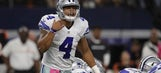 Dak Prescott on possibility of Romo starting: 'As long as we're winning, I don't care'