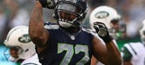Seahawks' Michael Bennett gets last laugh after being hit by cheap shot