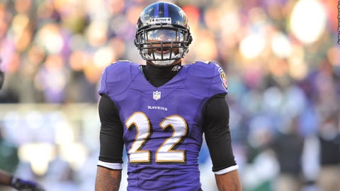 Jimmy Smith, CB, Ravens (back): Out