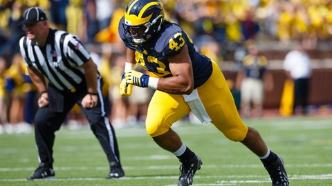 Redskins: Chris Wormley, DT, Michigan