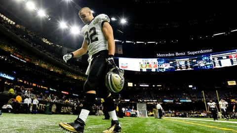 Coby Fleener, TE, New Orleans Saints