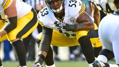 Maurkice Pouncey, C, Steelers
