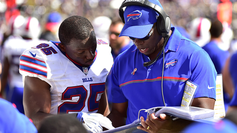 Anthony Lynn, Bills offensive coordinator