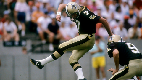 Morten Andersen, Kicker: NO