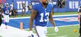 Odell Beckham Jr. misses Giants practice with hip injury