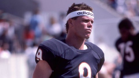 Jim McMahon's and Walter Payton's headbands from Super Bowl XX