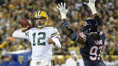 Sunday: Packers at Bears