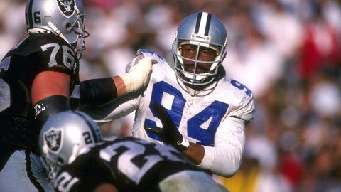 DE: Charles Haley, 49ers/Cowboys