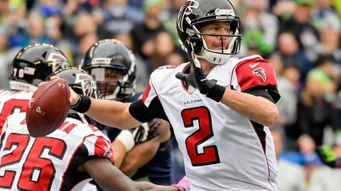 This matchup favors the Falcons