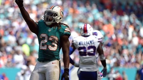 Miami Dolphins at Buffalo Bills, 1 p.m. CBS (Sunday Ticket channel 705)