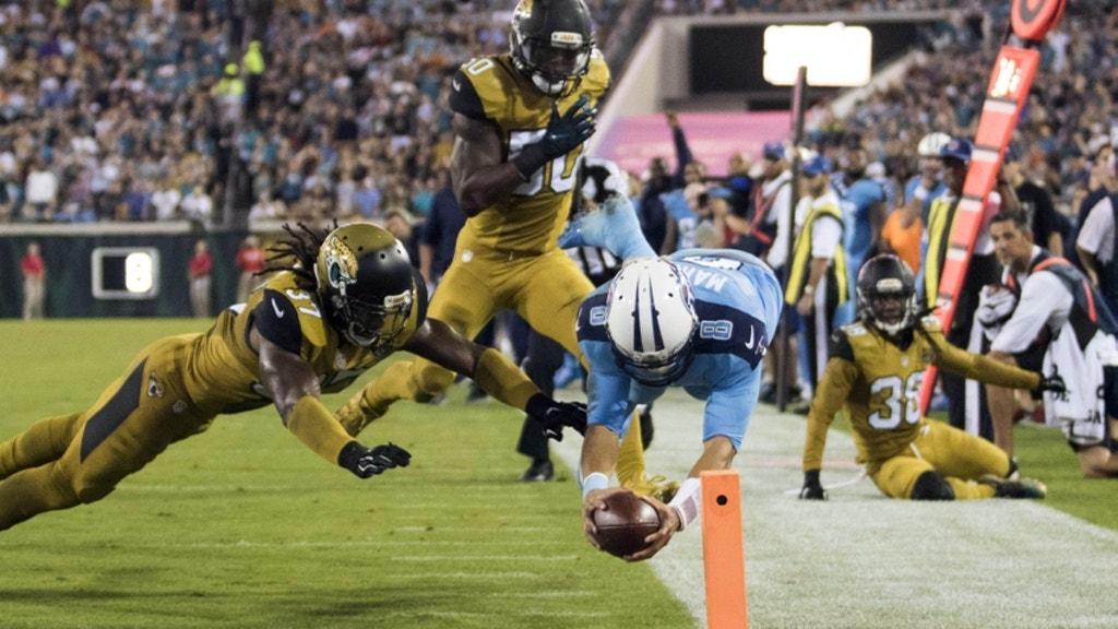 Brown NFL Jacksonville Jaguars Womens Flyer Pull Up Western Boot 7