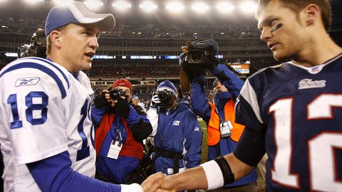 2006 AFC Championship game: Colts 38, Patriots 34