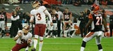 Redskins, Bengals battle to 27-27 tie in London