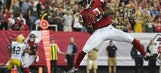 Falcons rally to beat Packers 33-32 on Sanu's TD catch