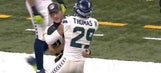 Seahawks FS Earl Thomas had a perfectly good reason for hugging an official