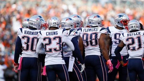 The Patriots defense got stingier