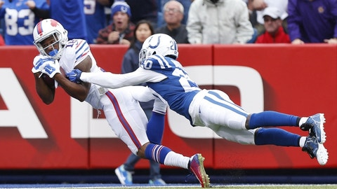 December 10: Indianapolis Colts at Buffalo Bills, 1 p.m. ET