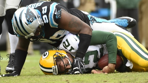 December 17: Green Bay Packers at Carolina Panthers, 1 p.m. ET