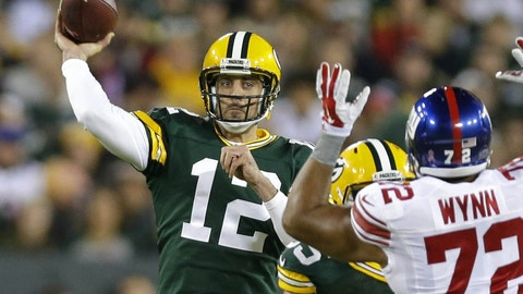 It'll be close, but Green Bay will edge the Giants
