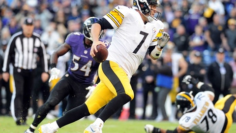 Week 16: Ravens at Steelers, Dec. 25