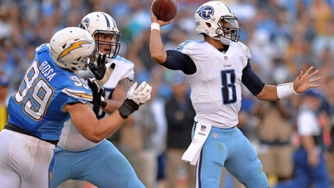 Denver Broncos at Tennessee Titans, 1 p.m. CBS (708)