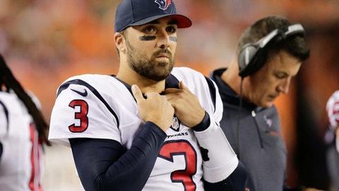 Tom Savage, QB, Texans