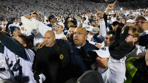 Penn State at Ohio State, October 28th