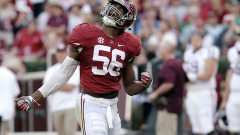 Eagles: Tim Williams, LB, Alabama