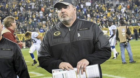 Mike McCarthy, Green Bay Packers (Last week: 5)