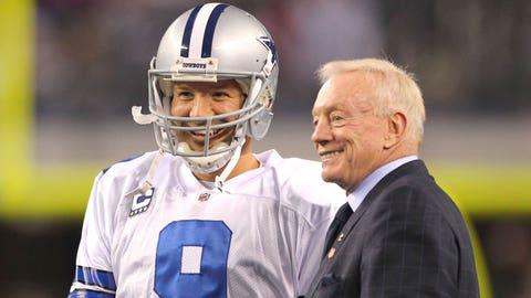 Jerry Jones shall stop praising Tony Romo...