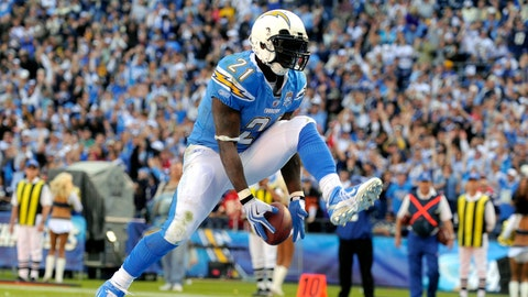 RB LaDainian Tomlinson: Chargers (2001-09), Jets (2010-11)