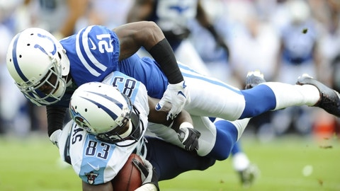 Tennessee Titans: WR Harry Douglas