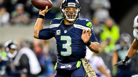Seahawks (-9.5) over 49ERS (Over/under: 43)