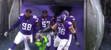 FOX sound guy explains how he got trampled by the Vikings