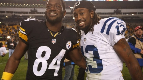 November 12: Pittsburgh Steelers at Indianapolis Colts, 1 p.m. ET