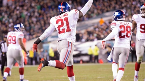 2. Landon Collins, Giants