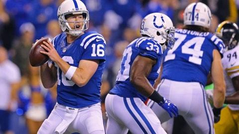 Scott Tolzien, QB, Indianapolis Colts