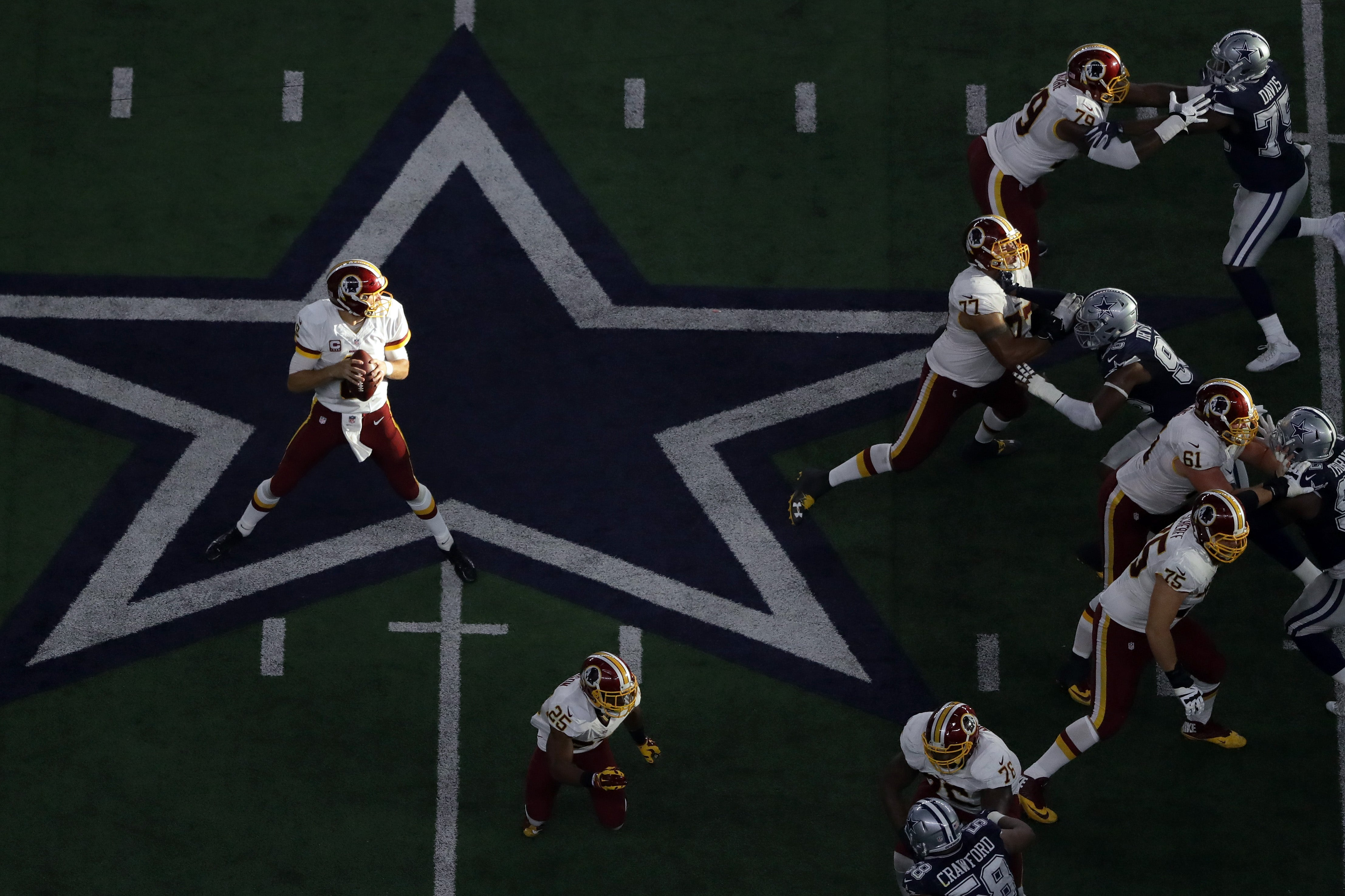 406e2772 The Redskins accomplished a rare offensive feat in their losing ...