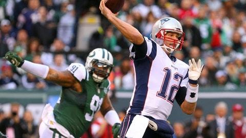 Jets at Patriots: 1 p.m., Dec. 24 (CBS)