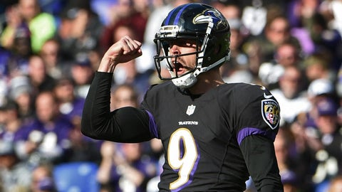 Ravens: Our kicker's awesome