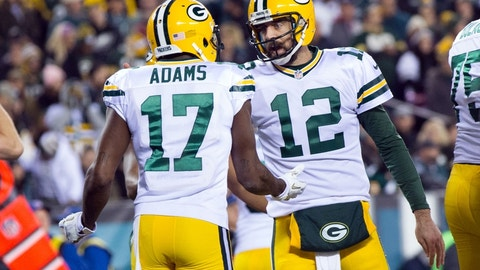 Green Bay's wide receivers aren't healthy
