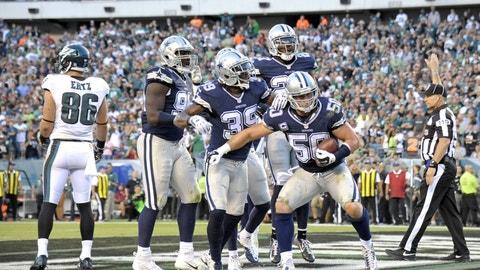 November 19: Philadelphia Eagles at Dallas Cowboys, 8:30 p.m. ET