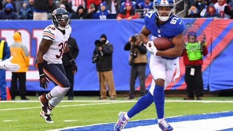 Sterling Shepard, WR, Giants (NA last week)