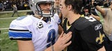Comparing Stafford and Brees through 104 Games